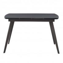 Largo Matt Grey стол раскладной стеклянный 120-180 см (111873)