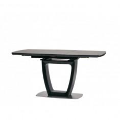 Ravenna Dark Grey стіл розкладний 120-160 см темно-сірий (112817)