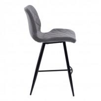 Diamond полубарный стул серый (111568)