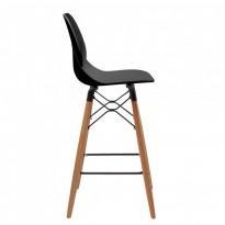 Friend полубарный стул чёрный (111541)