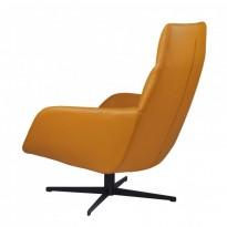 Berkeley лаунж кресло с подставкой, светло-коричневый (112008)