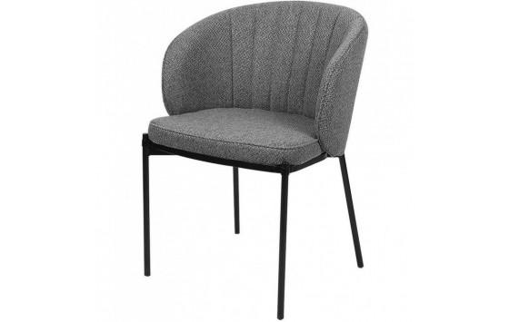 Laguna стілець обідній сірий графіт (115474)