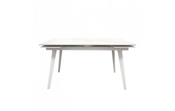 Hugo Carrara White стол раскладной керамика 140-200 см (114291)