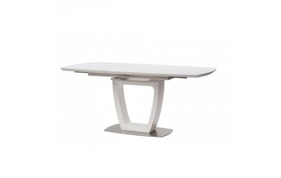 Ravenna Matt White стіл розкладний 120-160 см білий (112810)