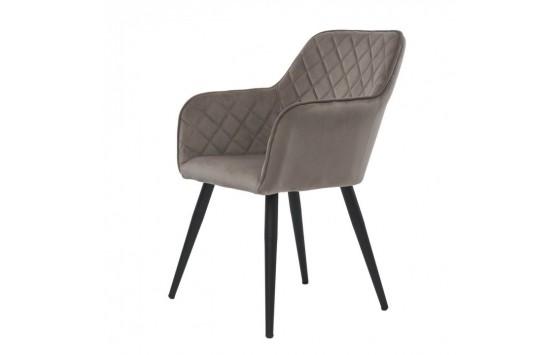 Antiba кресло пудровый серый (111833)