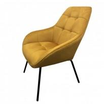 Morgan лаунж кресло жёлтый карри (112928)