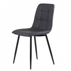 Norman стул кожзам графит (112006)