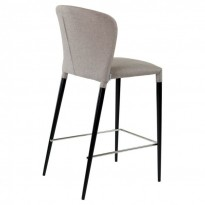 Arthur полубарный стул светло-серый (110145)