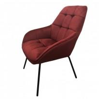 Morgan лаунж кресло красное вино (112927)