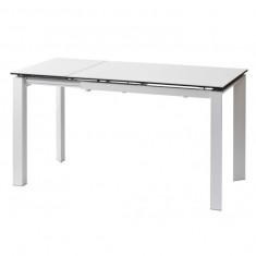 Bright Pure White стіл керамічний 102-142 см (115325)