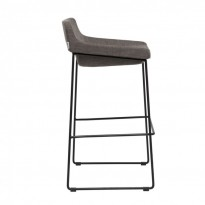 Comfy полубарный стул серый (111270)