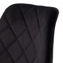 Diamond полубарный стул чёрный (115129)