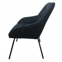 Morgan лаунж кресло синее (112925)