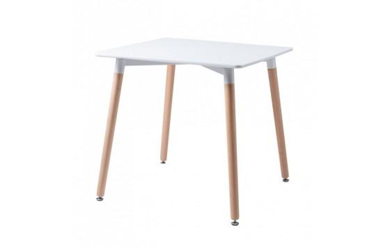 Cuadrado стол белый 80 см (111727)