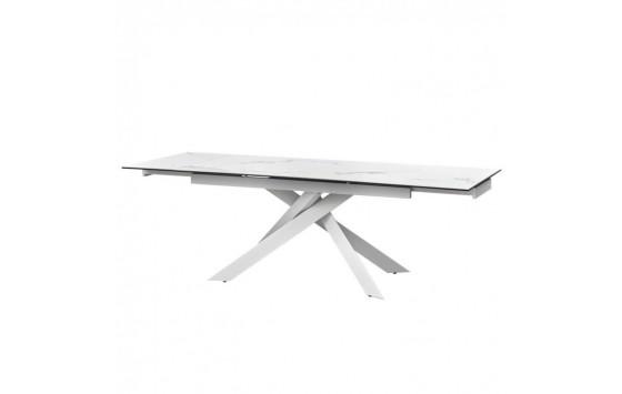 Gracio Straturario White стол раскладной керамика 160-240 см (111852)