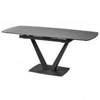 Elvi Pure Grey стол керамический 120-180 см (115296)