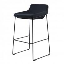 Comfy полубарный стул чёрный (111269)