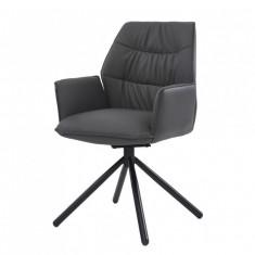 Boston крісло поворотне графіт (111841)