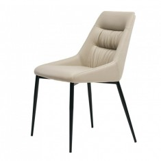 Savannah стілець екошкіра молочний (112825)