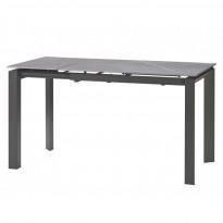 Bright Grey Marble стол керамический 102-142 см (115327)