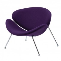 Foster кресло лаунж фиолетовое (111752)