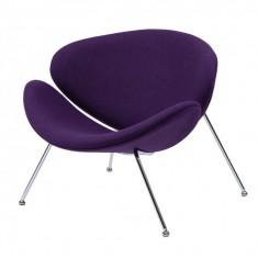 Foster крісло лаунж фіолетове (111752)