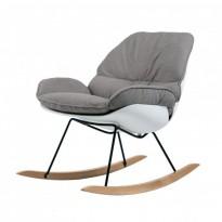 Serenity кресло-качалка серое (111548)