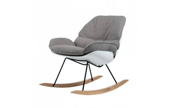 Serenity крісло-гойдалка сіре (111548)