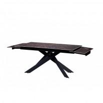 Gracio Imperial Brown стол раскладной керамика 160-240 см (114133)