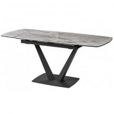 Elvi Light Grey стіл керамічний 120-180 см (115295)