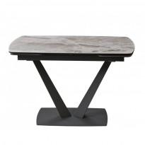 Elvi Light Grey стол керамический 120-180 см (115295)
