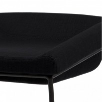Coin полубарный стул чёрный (111266)