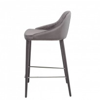 Elizabeth полубарный стул серый (111029)