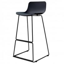 Petal барний стілець чорний (111545)