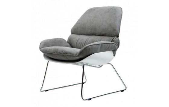 Serenity крісло лаунж сіре (111546)