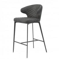 Keen полубарный стул нефтяной серый (111702)