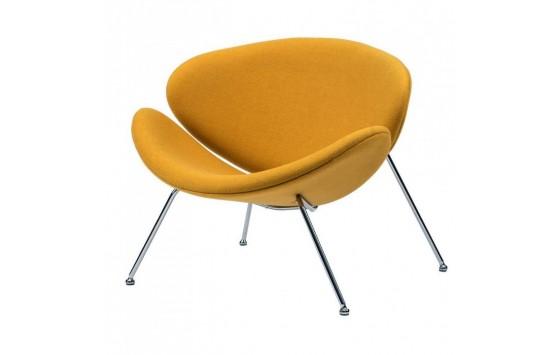 Foster кресло лаунж жёлтый карри (111751)