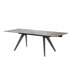 Keen Dark Ash стол раскладной керамика 160-240 см (114303)