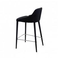 Elizabeth полубарный стул чёрный (111276)