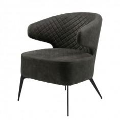 Keen крісло лаунж нафтовий сірий (111701)