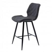 Diamond полубарный стул серый графит (111569)