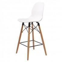 Friend полубарный стул белый (110267)