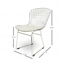 Стул Bertoia Chair