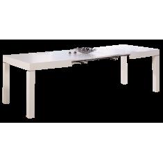 Стіл обідній розкладний МДФ білий DAOSUN B 2257