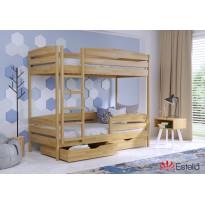 Двухъярусная кровать Дует Плюс 80х190 102 Щит h 181 2Л4