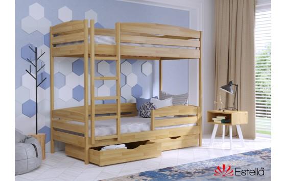 Двухъярусная кровать Дует Плюс 80х200 102 Щит h 181 2Л4
