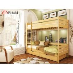 Двухъярусная кровать Дует 90х200 102 Щит 2Л4