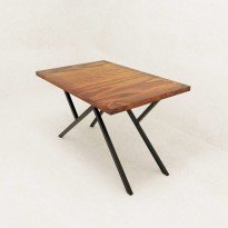 Стол обеденный в стиле Лофт Zig-zag ST-12
