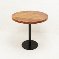 Стол круглый в стиле Лофт Parallel ST-01