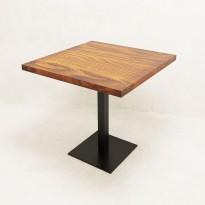 Стол квадратный в стиле Лофт Parallel ST-04